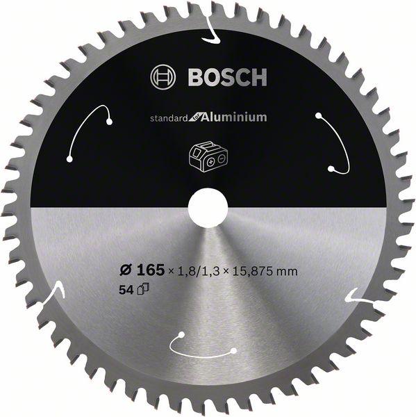 Pilový kotouč Bosch 165 x 15.875 x 1,8 mm, 54 z, 2608837758 Standard for Aluminium pro aku pily