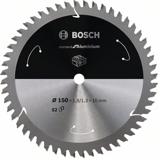 Pilový kotouč Bosch 150 x 10 x 1,8 mm, 52 z, 2608837762 Standard for Aluminium pro aku pily