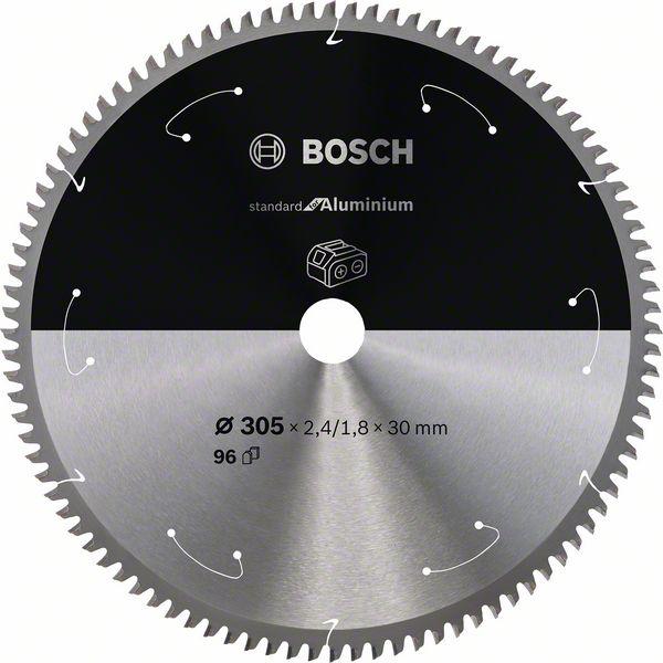 Pilový kotouč Bosch 305 x 30 x 2,4 mm, 96 z, 2608837782 CSB for aluminium bezdrátové