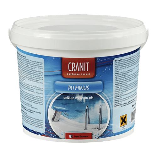 Den Braven CH208 Cranit pH minus - snižuje hodnotu pH, kbelík, 4,5 kg