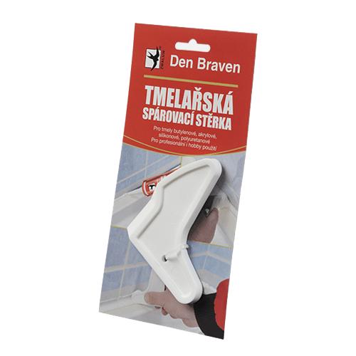 Den Braven S2510RL Silikonová stěrka tmelařská hobby, bílá