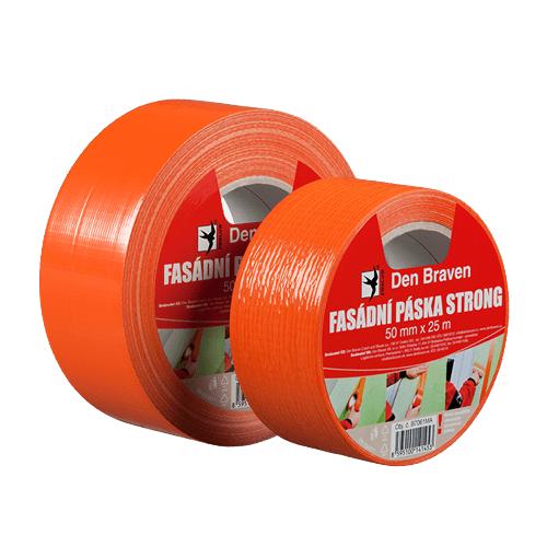 Den Braven B7062MA Fasádní páska STRONG, 50 mm x 50 m, oranžová