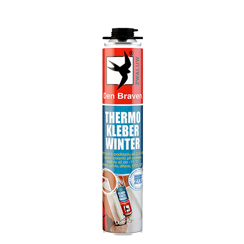 Den Braven 40350TH THERMO KLEBER WINTER, pistolová dóza 750 ml, zelená