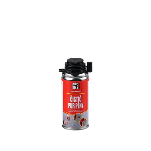 Den Braven 40408RL Čistič PUR pěny, dóza 150 ml