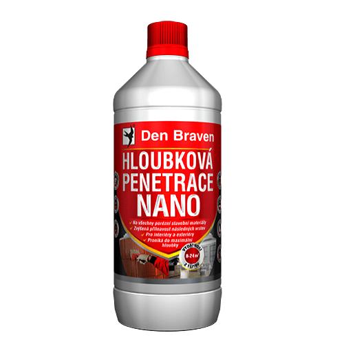 Den Braven 57450Q Hloubková penetrace NANO, láhev 1 litr