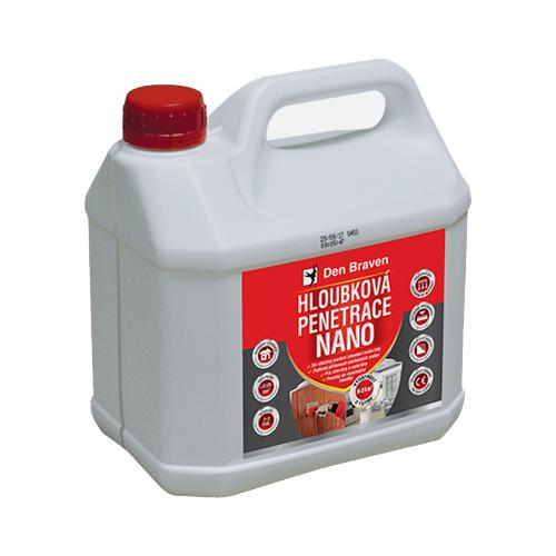 Den Braven 57452Q Hloubková penetrace NANO, kanystr 3 litry