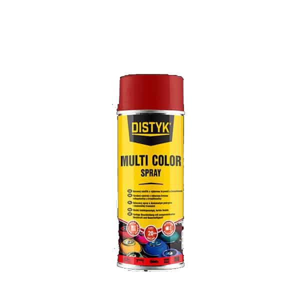 Distyk TP03002DEU MULTI COLOR SPRAY , sprej 400 ml, karmínová červená, RAL 3002