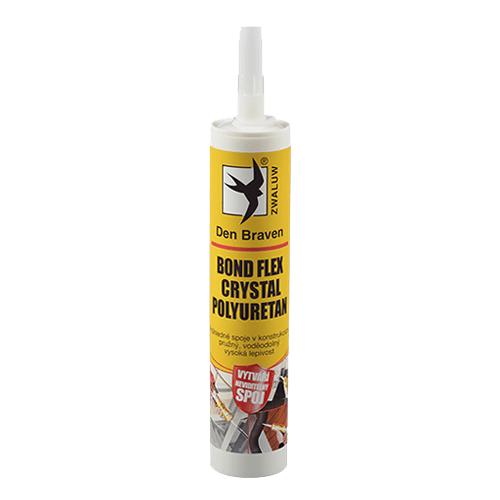 Den Braven 31418BD BOND FLEX CRYSTAL polyuretan, kartuše 300 ml, transparentní