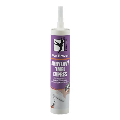 Den Braven 20102EXP Akrylový tmel EXPRES, kartuše 310 ml, bílá