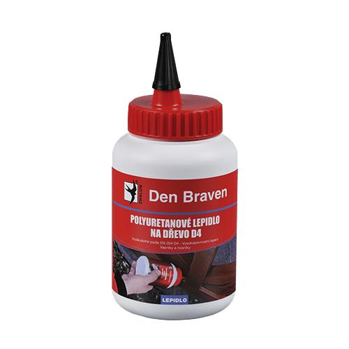 Den Braven 50252FF Polyuretanové lepidlo na dřevo D4, dóza 500 g