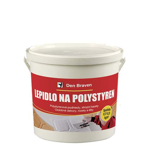 Den Braven 50904BD Lepidlo na polystyren, kelímek 1 kg