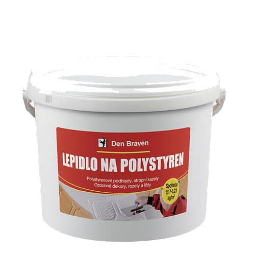 Den Braven 50906BD Lepidlo na polystyren, kbelík 3 kg