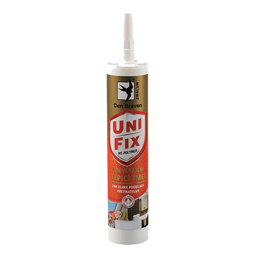 Den Braven 52013BD MS UNIFIX na všechna tmelení a lepení, kartuše 290 ml, šedá