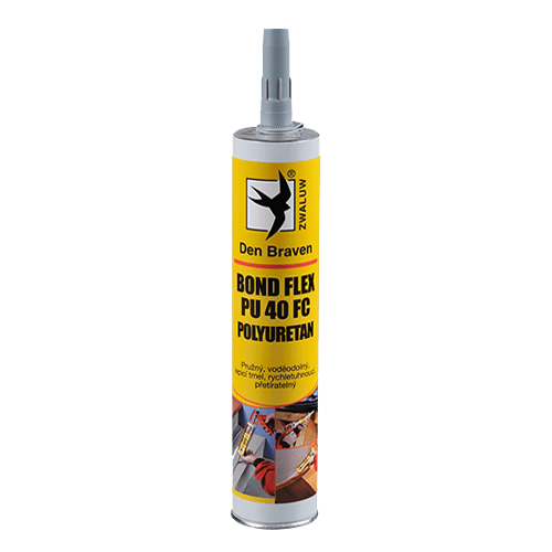 Den Braven 31422BD BOND FLEX PU 40 FC polyuretan, kartuše 300 ml, šedá