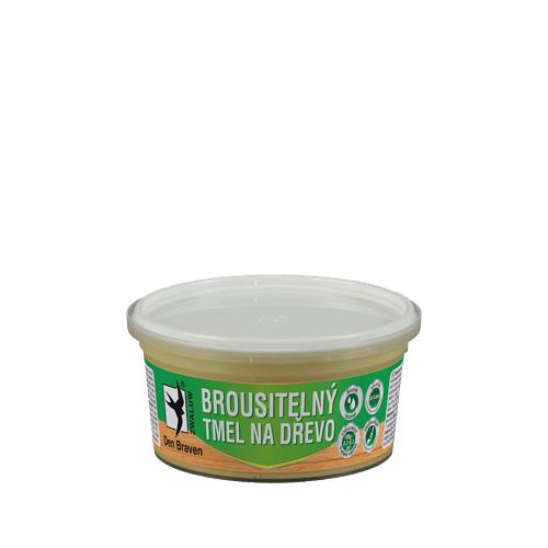 Den Braven 00504RL Brousitelný tmel na dřevo, kelímek 250 ml, borovice
