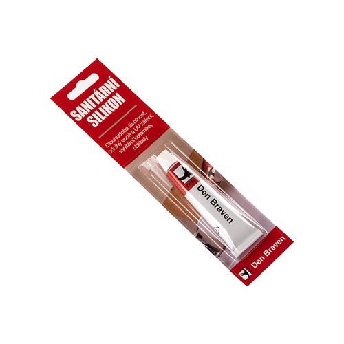 Den Braven 35000TU Sanitární silikon, tuba 23 ml, bílý