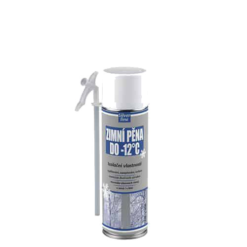 Den Braven 40322SL Zimní pěna do -12 °C Silver line, 500 ml, zelená