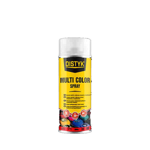 Distyk TP09005DEU MULTI COLOR SPRAY , sprej 400 ml, černá, RAL 9005