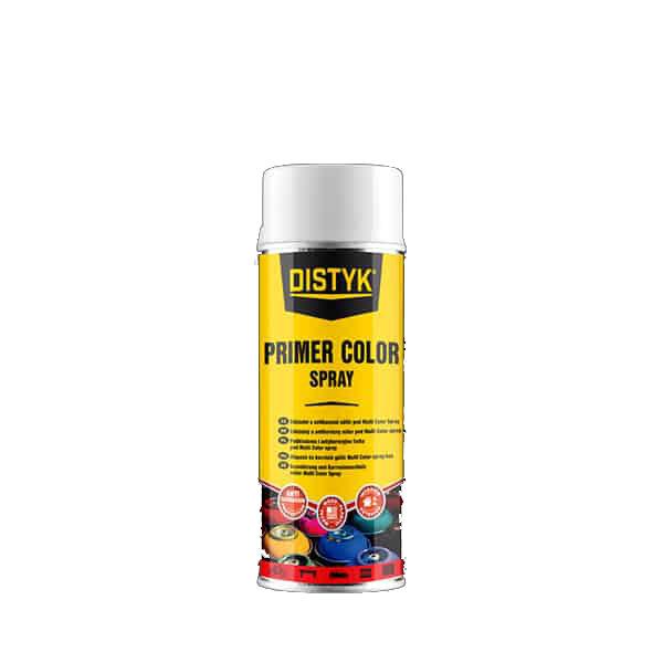 Distyk TP19003DEU PRIMER COLOR SPRAY , sprej 400 ml, signální bílá