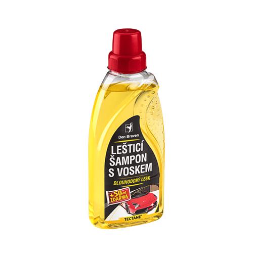 Den Braven TA00035 Leštící šampon s voskem, láhev 450 ml + 50 ml zdarma