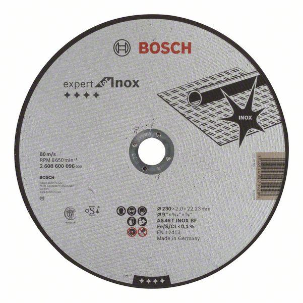 Řezný kotouč 230x2x22,23 Bosch 2608600096 Expert for Inox