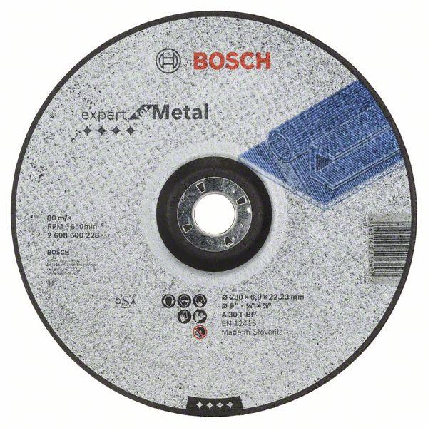 Brusný kotouč 230x6x22,23 Bosch 2608600228 Expert for Metal