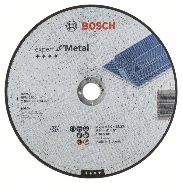Řezný kotouč 230x3x22,23 Bosch 2608600324 Expert for Metal