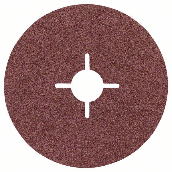 Fibrový kotouč 115 mm, P80, Bosch 2608605467 Best for Metal
