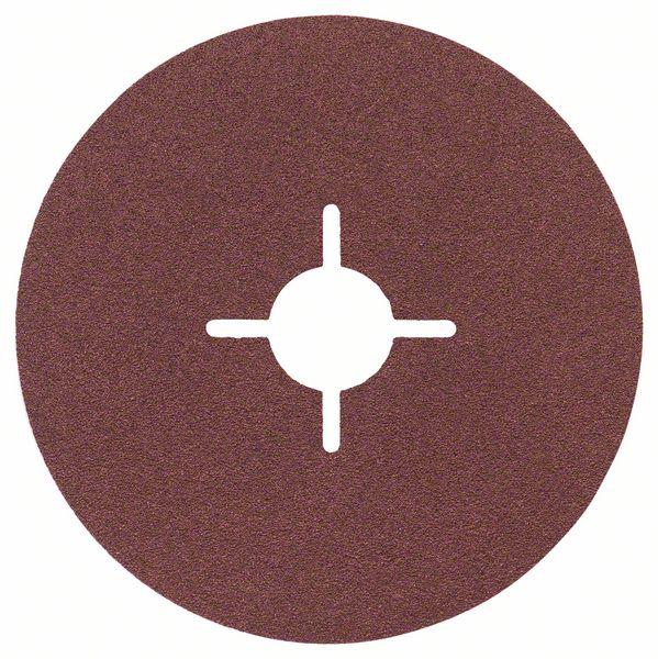 Fibrový kotouč 115 mm, P120, Bosch 2608605469 Best for Metal