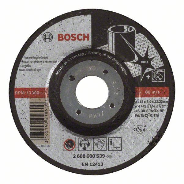 Brusný kotouč 115x6x22,23 Bosch 2608600539 Expert for Inox