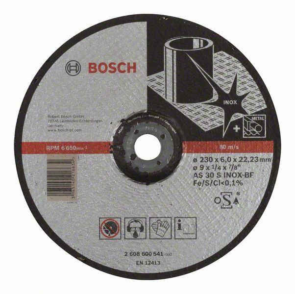 Brusný kotouč 230x6x22,23 Bosch 2608600541 Expert for Inox