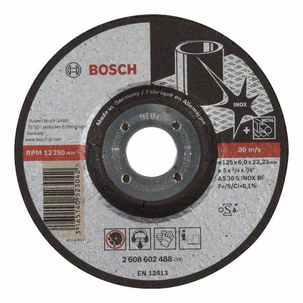 Brusný kotouč 125x6x22,23 Bosch 2608602488 Expert for Inox