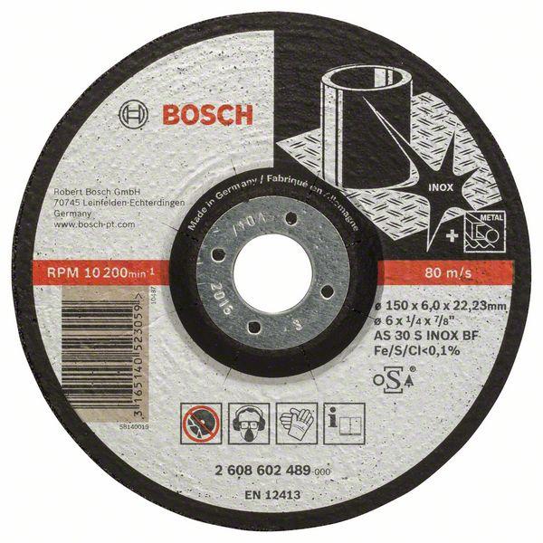 Brusný kotouč 150x6x22,23 Bosch 2608602489 Expert for Inox