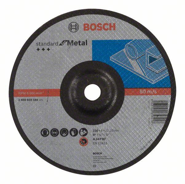 Brusný kotouč 230x6x22,23 Bosch 2608603184 Standard for Metal