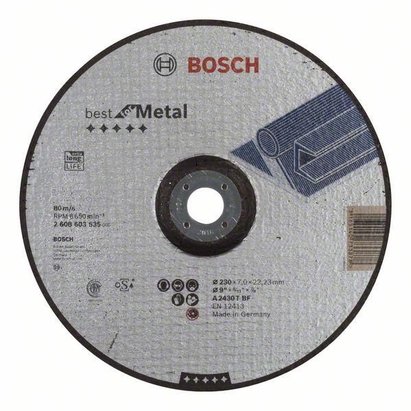 Brusný kotouč 230x7x22,23 Bosch 2608603535 Best for Metal