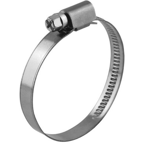 Hadicová spona 210-230 mm W4 nerezová, šíře pásku 9 mm