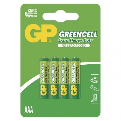 Emos B1211 Zinková baterie GP Greencell AAA (R03), 1ks