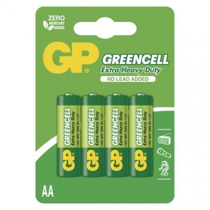 Emos B1221 Zinková baterie GP Greencell AA (R6), 1ks