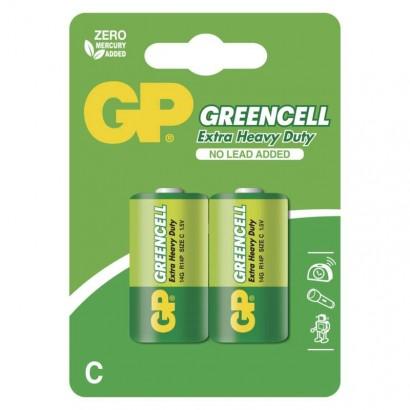 Emos B1231 Zinková baterie GP Greencell C (R14), 1ks