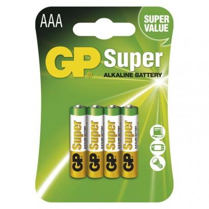 Emos B1311 Alkalická baterie GP Super AAA (LR03), 1ks