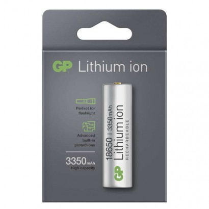 Emos B23133 Nabíjecí baterie GP Lithium-ion 18650 3350mAh PCM, 1ks