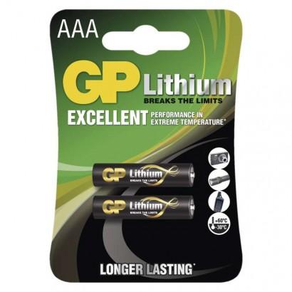 Emos B15112 Lithiová baterie GP AAA (FR03), 1ks