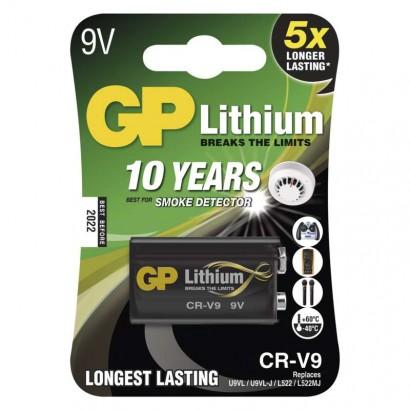 Emos B1509 Lithiová baterie GP 9V (CR-V9), 1ks