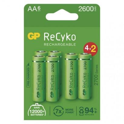 Emos B2127V Nabíjecí baterie GP ReCyko 2700 AA (HR6), 1ks