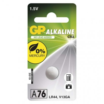 Emos B13762 Alkalická knoflíková baterie GP A76F (LR44), 1ks