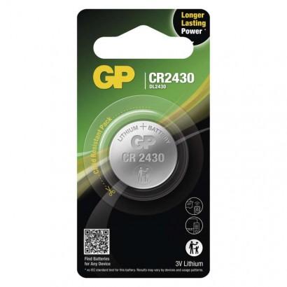 Emos B15301 Lithiová knoflíková baterie GP CR2430, 1ks