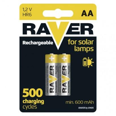 Emos B7426 Nabíjecí baterie do solárních lamp RAVER AA (HR6) 600 mAh, 1ks