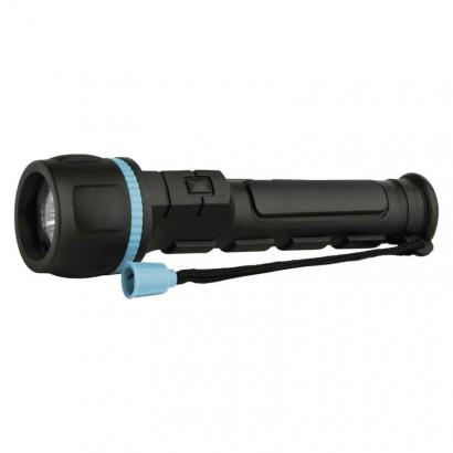 Emos P3861 LED ruční gumová svítilna P3861, 20 lm, 2× AA