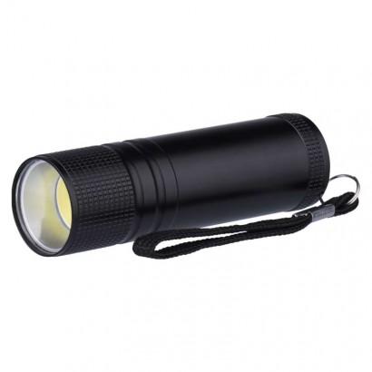 Emos P3894 COB LED ruční kovová svítilna P3894, 100 lm, 3× AAA
