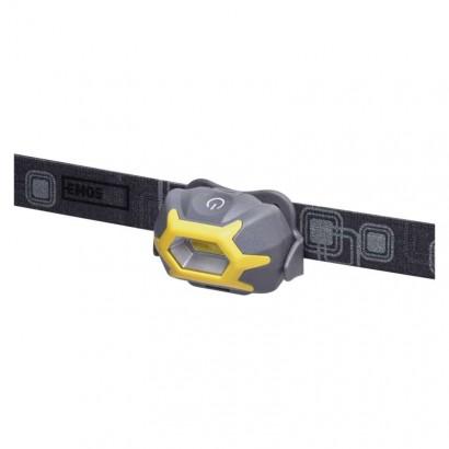 Emos P3532 COB LED čelovka P3532, 125 lm, 20m, 3× AAA